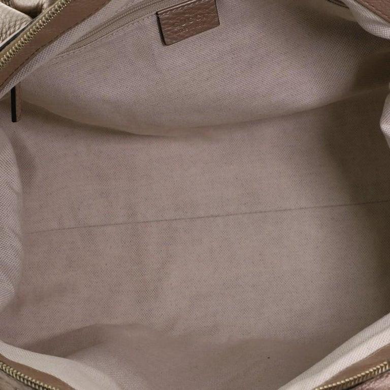 Gucci Sukey Convertible Boston Bag Leather Medium For Sale 1