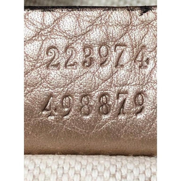 Gucci Sukey Convertible Boston Bag Leather Medium For Sale 2