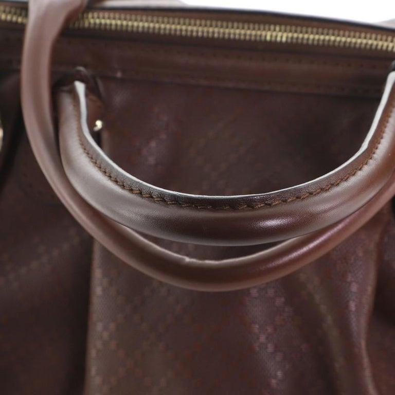 Gucci Sukey Top Handle Satchel Diamante Leather Medium For Sale 2