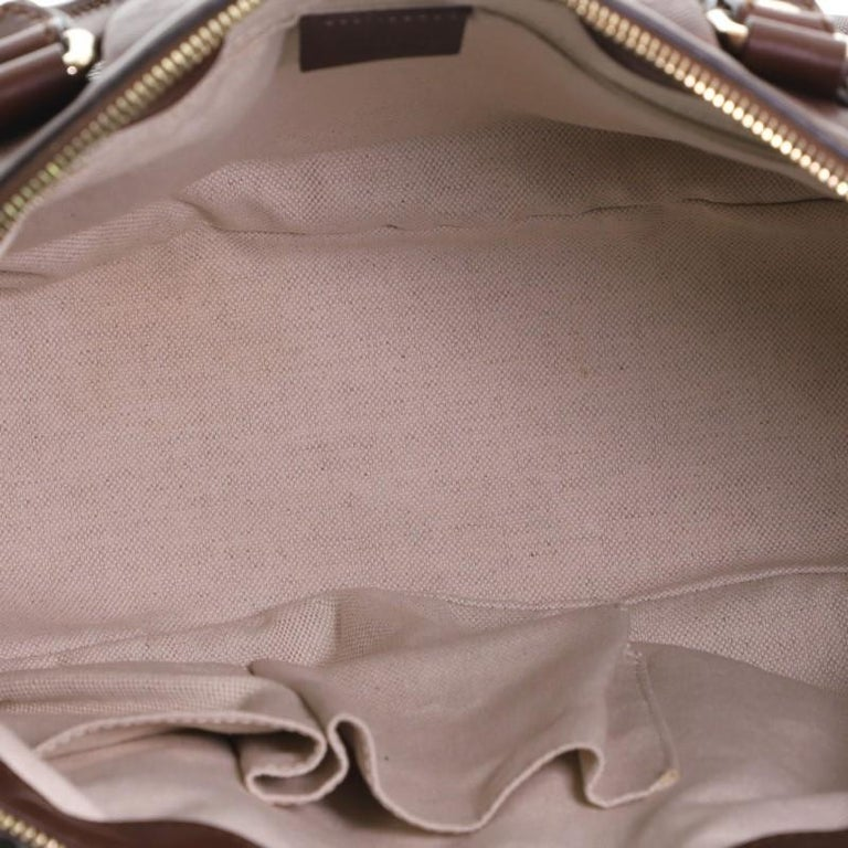 Gucci Sukey Top Handle Satchel Diamante Leather Medium For Sale 4