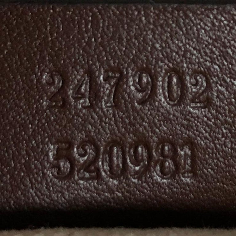 Gucci Sukey Top Handle Satchel Diamante Leather Medium For Sale 5