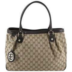 Gucci Sukey Top Handle Tote GG Canvas Medium