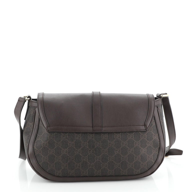 Gucci Sukey Tote GG Canvas Large In Good Condition For Sale In New York, NY
