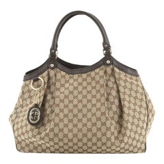 Gucci Sukey Tote GG Canvas Large