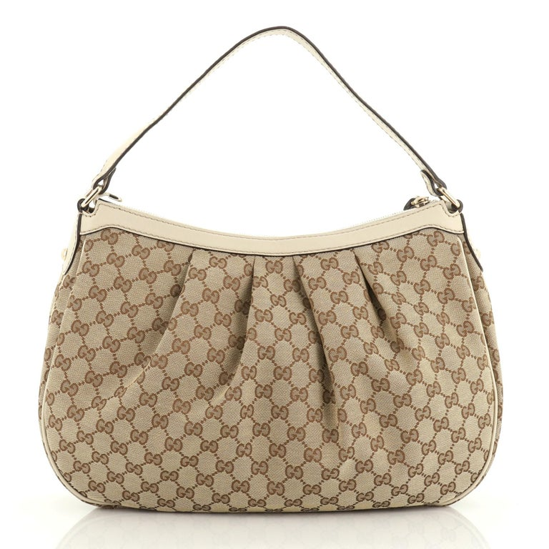 Gucci Sukey Tote GG Canvas Medium In Good Condition For Sale In New York, NY
