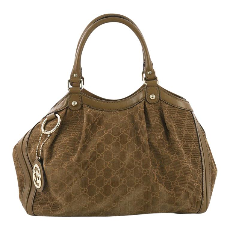 7a9cf3455 Gucci Sukey Tote GG Corduroy Medium For Sale at 1stdibs