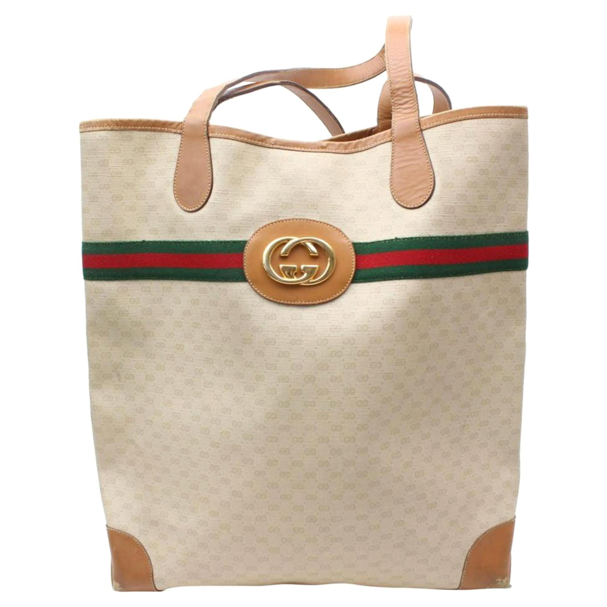 3e4b04133ce Gucci Large Tote Bags - 62 For Sale on 1stdibs