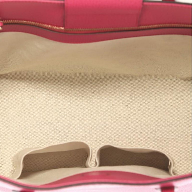 Gucci Swing Tote Leather Small For Sale 1