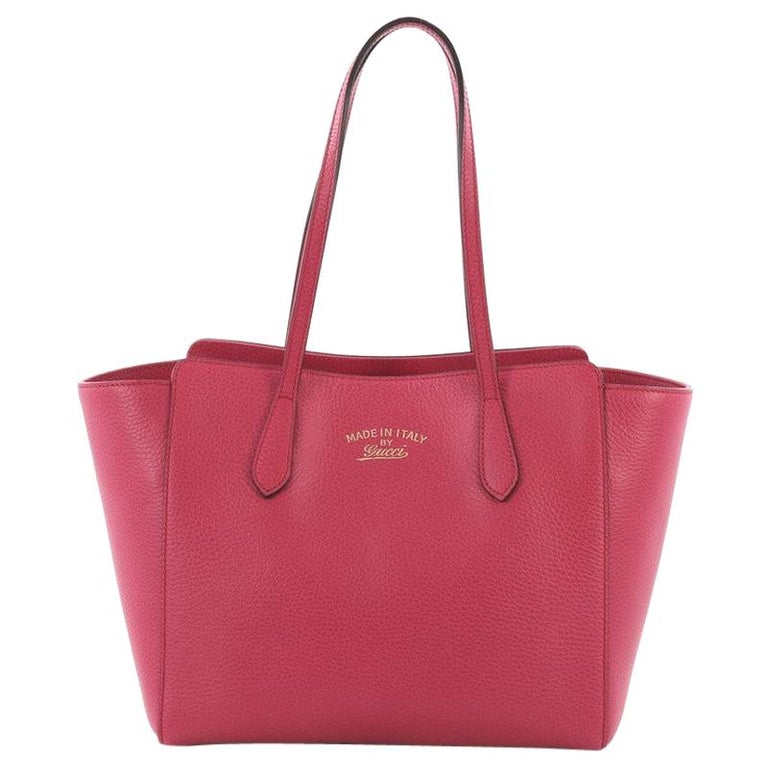 Gucci Swing Tote Leather Small For Sale