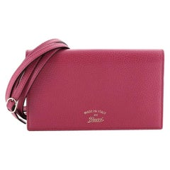 Gucci Swing Wallet on Strap Leather