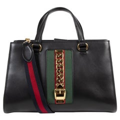 Gucci Sylvie Black Shoulder Bag