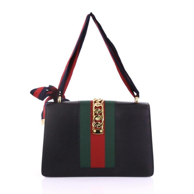 576ed2c35 Gucci Sylvie Shoulder Bag Leather Small at 1stdibs