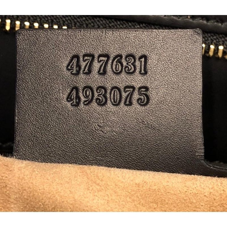 Gucci Sylvie Top Handle Bag Leather Large For Sale 3