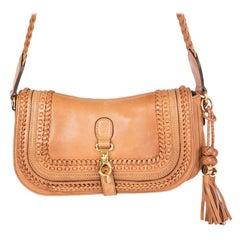 GUCCI tan beige leather LIMITED EDITION MARRAKECH MESSENGER Shoulder Bag