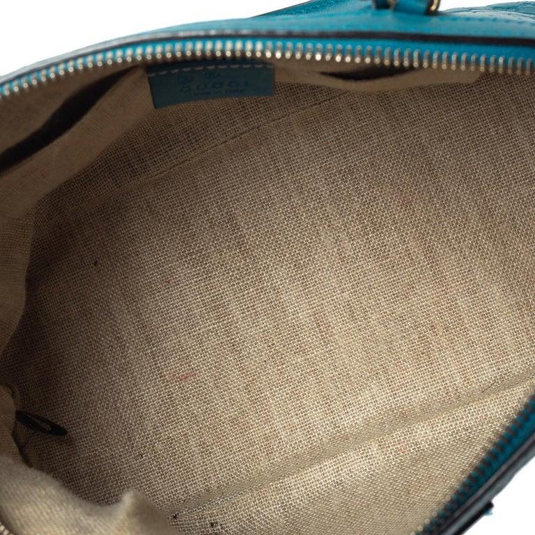 Gucci Teal Microguccissima Leather Mini Nice Dome Bag For Sale 1