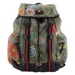 Gucci Techpack Backpack Printed Canvas