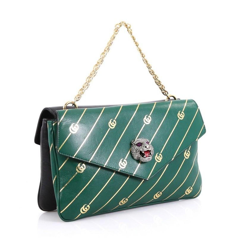 8af83dc7d49 Gucci Thiara Double Shoulder Bag Printed Leather Medium For Sale at 1stdibs