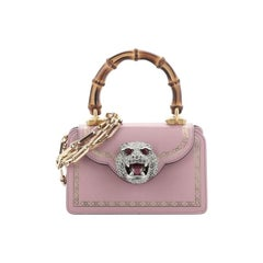 Gucci Thiara Top Handle Bag Frame Print Leather Small