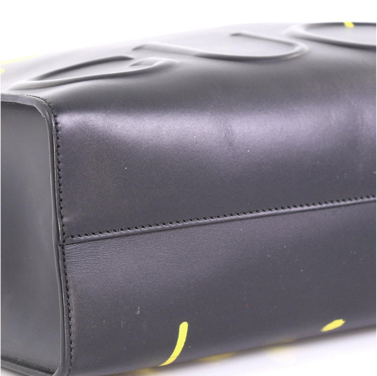 Gucci Tote GucciGhost Leather Medium 1