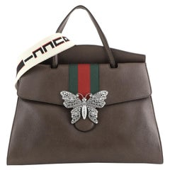 Gucci Totem Top Handle Bag Leather Large