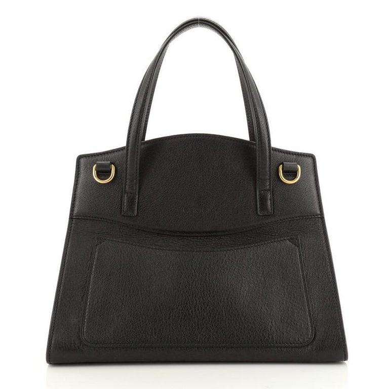 Gucci Totem Top Handle Bag Leather Medium In Good Condition For Sale In New York, NY