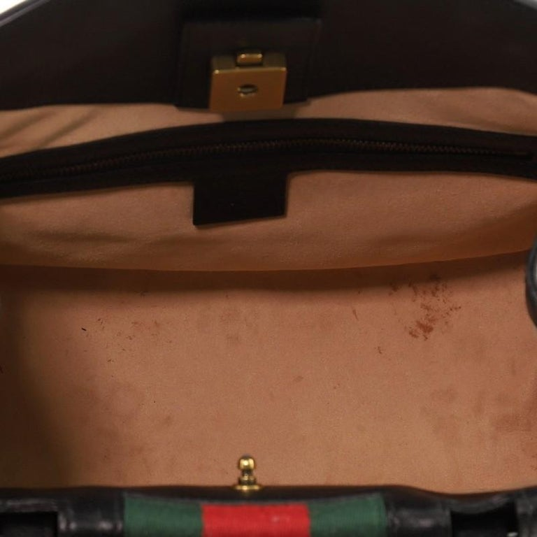 Gucci Totem Top Handle Bag Leather Medium For Sale 1
