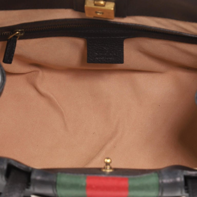 Gucci Totem Top Handle Bag Leather Medium For Sale 3
