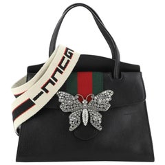 Gucci Totem Top Handle Bag Leather Medium