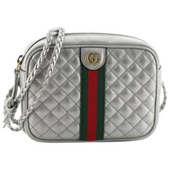 Gucci Trapuntata Camera Bag Quilted Leather Mini