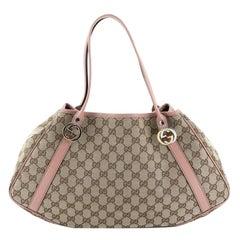 Gucci Twins Shoulder Bag GG Canvas Medium