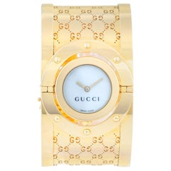 Gucci Twirl 18 Karat Yellow Gold  Ladies Watch