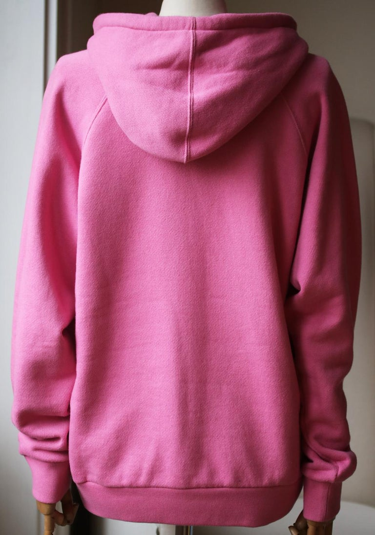 Gucci UFO Appliquéd Cotton-Jersey Hoodie  In Excellent Condition In London, GB