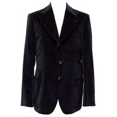 Gucci Velvet Blazer SIZE L IT 50R