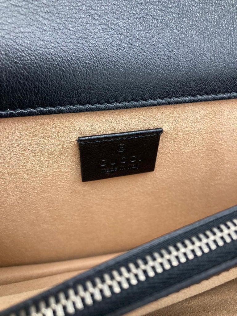 Gucci Vichy Wool Tweed Small Dionysus Shoulder Bag For Sale 4