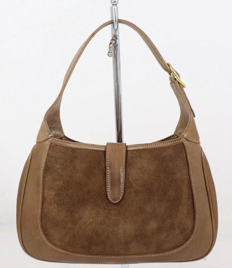 Gucci Vintage 1970's Small Jackie O Bag 8