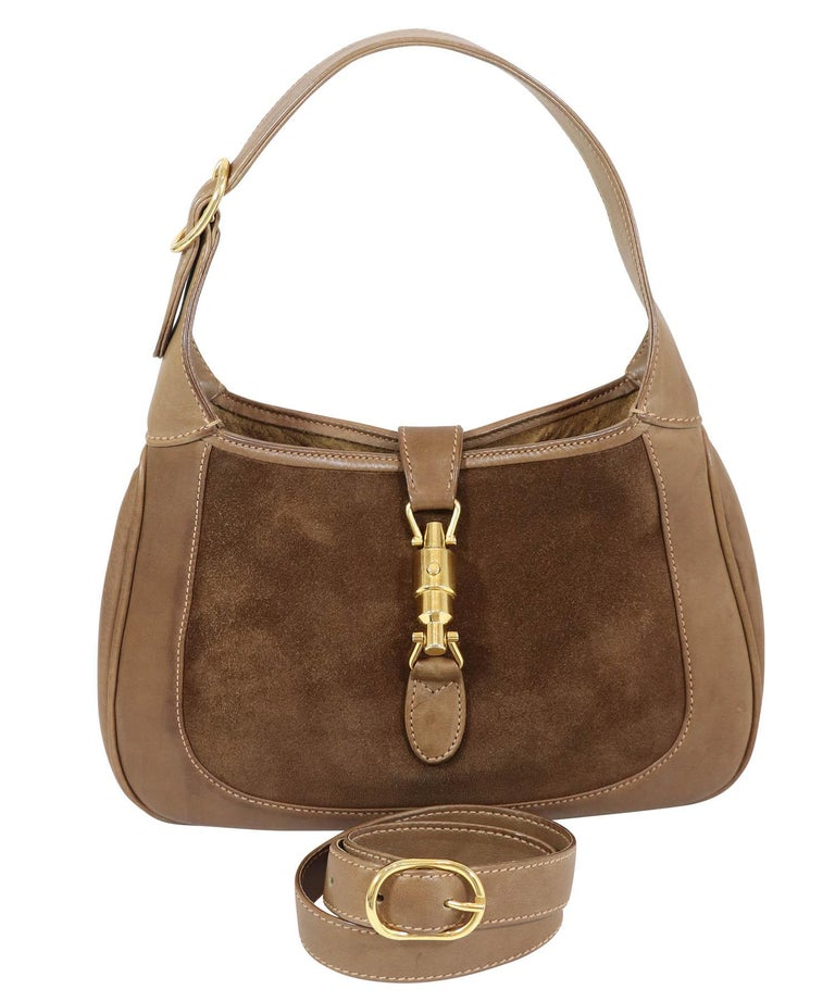 Gucci Vintage 1970's Small Jackie O Bag 2
