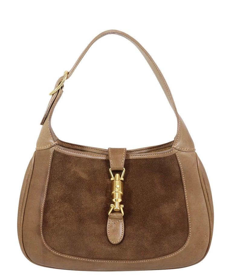 Gucci Vintage 1970's Small Jackie O Bag 3