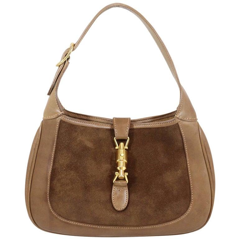 Gucci Vintage 1970's Small Jackie O Bag