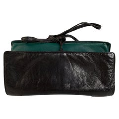 Gucci Vintage Black Soft Leather Jewelry Roll Holder Travel Case