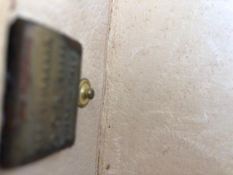 Gucci Vintage Brown GG Monogram Canvas Business Attache Hard Side Briefcase For Sale 6