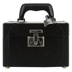 Gucci Vintage Jewelry Box Guccissima Leather