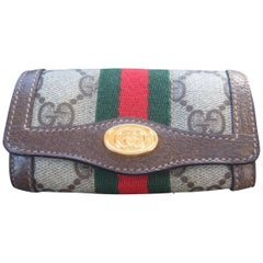Gucci Vintage Key Chain Case in Gucci Presentation Box c 1980s