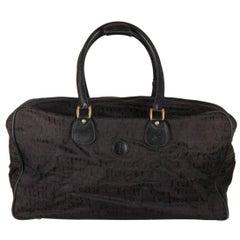 Gucci Vintage Logo Duffle Travel Bag