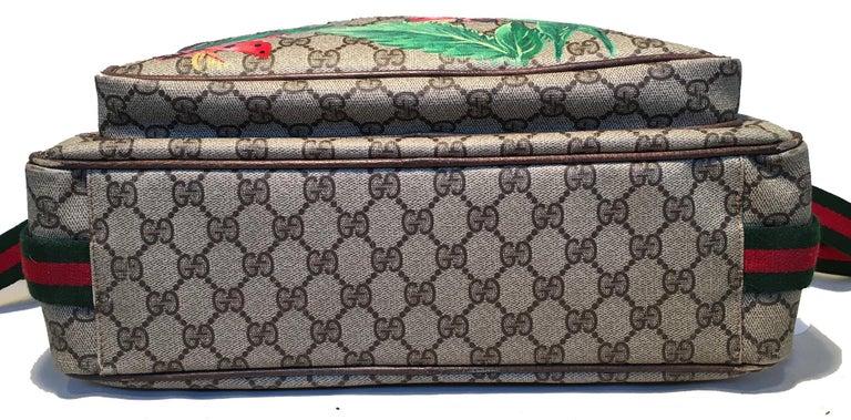 Women's or Men's Gucci Vintage Monogram Customized Ladybug Reporter Messenger Shoulder Bag For Sale