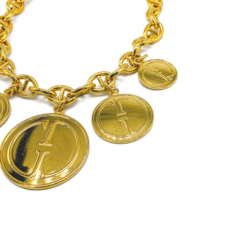 GUCCI Vintage Necklace  In Excellent Condition For Sale In London, GB