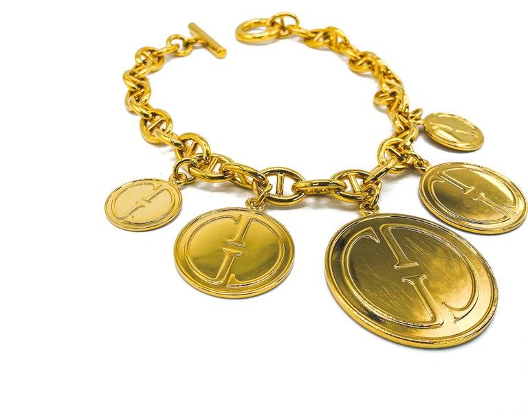 GUCCI Vintage Necklace  For Sale 2