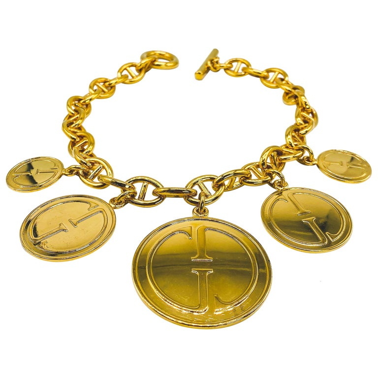 GUCCI Vintage Necklace  For Sale