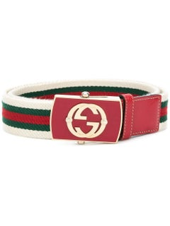 Gucci Vintage Web Belt