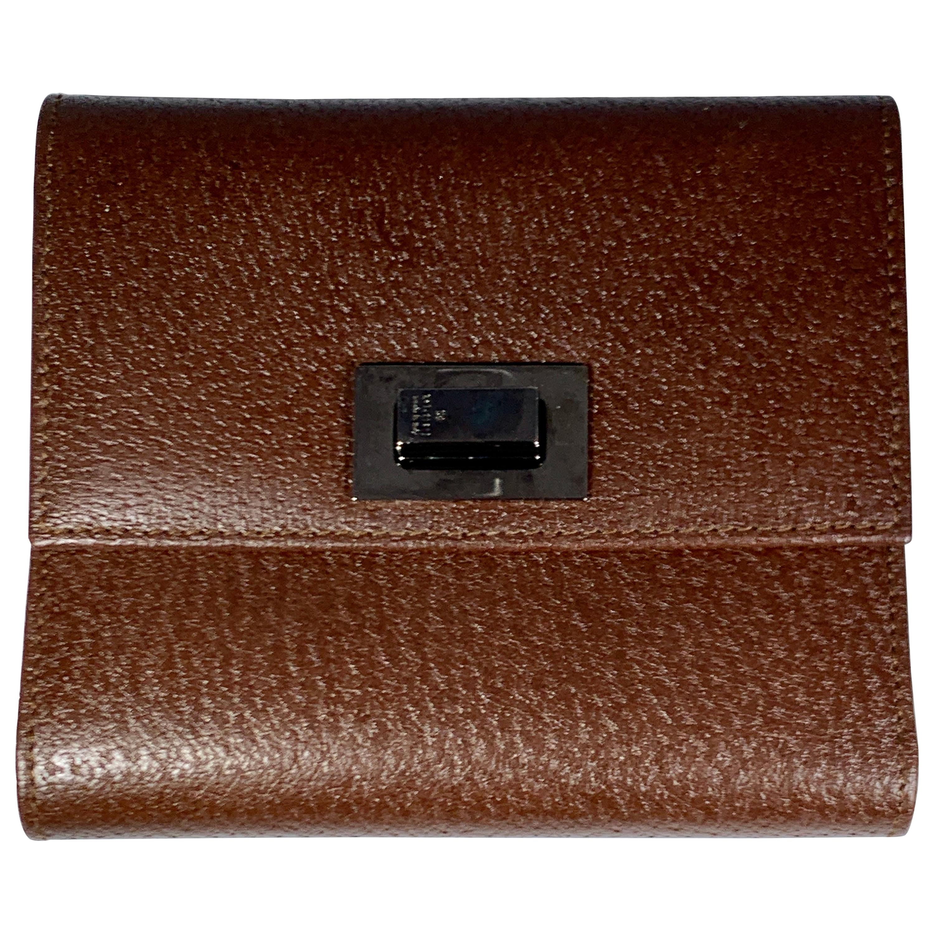 GUCCI   Wallet Browns Leather 1210703 Made in Italy Excellent Condition