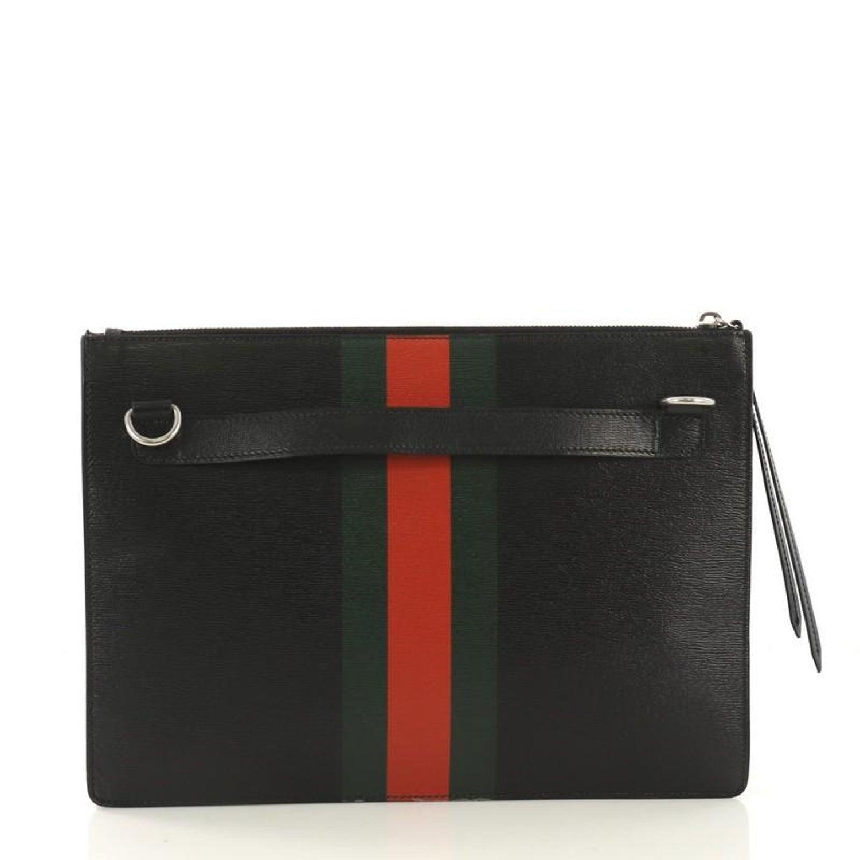 9aac41866b6 Gucci Web and Snake Messenger Bag Printed Leather Large at 1stdibs